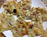 Grilled Okara & Tofu Pizza with Ready-made Curry Sauce recipe step 7 photo