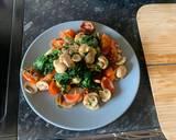 Spinach, Tomato & Feta Quesadillas recipe step 2 photo