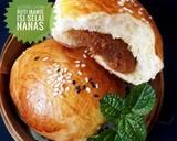 487. Roti Manis Isi Selai Nanas, lembut & moist langkah memasak 12 foto