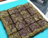 Green Tea Cadbury Marble Fudgy Brownies recipe step 11 photo