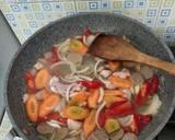 Capcay Ayam Bakso langkah memasak 4 foto