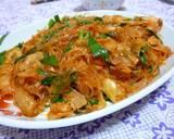 Pork, Kimchi and Cellophane Noodles Stir-fry recipe step 3 photo