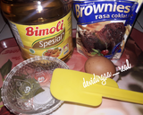 Brownies Kukus Instan Endesss langkah memasak 1 foto