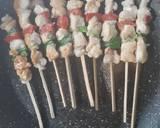 Chicken Yakitori (sate ayam jepang) langkah memasak 5 foto