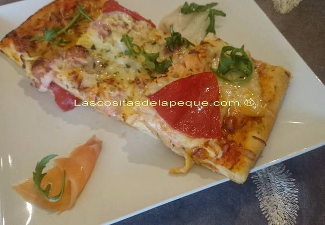 8 Pizza Crujiente Mar Y Montaña