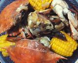Kepiting dan Jagung Masak Saos Tiram langkah memasak 4 foto