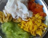 Spongecake (Durian_Pandan) Es Teller langkah memasak 8 foto