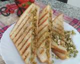 Moong sprout grilled sandwitch recipe step 6 photo