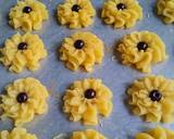 Semprit mawar choco chip langkah memasak 4 foto