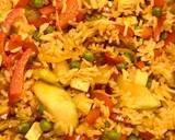 Smażony ryż z wędzonym tofu i warzywami 🌱 krok przepisu 5 zdjęcie