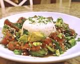 Tuna poke with coconut rice and Bibb lettuce recipe step 3 photo