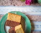 Lapis Pisang Cokelat langkah memasak 10 foto