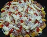 Pizza Roti Tawar langkah memasak 5 foto