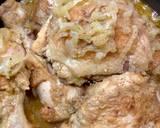 Duszony kurczak w cebuli krok przepisu 5 zdjęcie