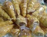 Puff pastry kacang mocca langkah memasak 8 foto