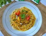 Spaghetti Tongseng Kambing langkah memasak 6 foto