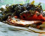 Pepes Ikan Asin & Daun Singkong Balado langkah memasak 4 foto