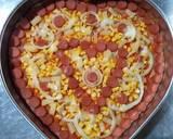 10.65 Pizza Ubi Ungu langkah memasak 7 foto