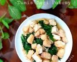 Tumis Dori Pokcoy langkah memasak 7 foto