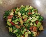Lawite (Labu Sawi Tempe) langkah memasak 4 foto