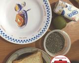 (Menu Diet) Yoghurt pisang kiwi gandum chia seed#homemadebylita langkah memasak 1 foto
