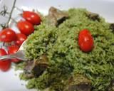 Green rice (Zamarod pilaf) recipe step 9 photo