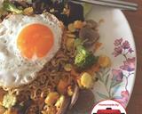 (Cheating day) Indomie goreng sayur telur enak#homemadebylita langkah memasak 6 foto