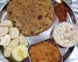 Dal ka pratha recipe step 3 photo