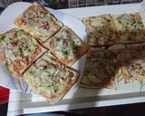 Bread pizza recipe step 2 photo