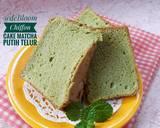 429. Chiffon Matcha/Green Tea Putih Telur #RabuBaru #BikinRamad langkah memasak 10 foto