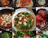 Sayur Pokcoy Tahu Korea langkah memasak 4 foto