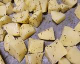 Thyme and Parmesan roasted potatoes recipe step 1 photo