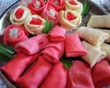 Dadar Gulung Mawar #DapurMerahPutih langkah memasak 12 foto