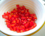 Red Bell Pepper and Egg Sandwich recipe step 2 photo
