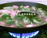 Ca Brokoli Ayam langkah memasak 6 foto