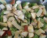 Brussels sprouts & apple warm salad