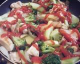 *Broccoli and Chicken Cheese Bake* recipe step 5 photo