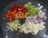 Ikan Cue Tongkol Suwir Pedas langkah memasak 2 foto