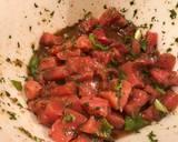 Tuna poke with coconut rice and Bibb lettuce recipe step 2 photo