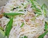 Somen Noodles Chijimi with Pork and Walnut recipe step 3 photo