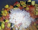 Sig's stuffed sweet peppers with vegetables and mozzarella recipe step 3 photo