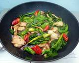 Chinese Broccoli With Roasted Pork recipe step 1 photo