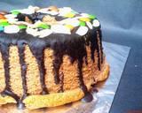 Chocolate Chiffon Cake (Chiffon Cake Putih Telur) langkah memasak 7 foto