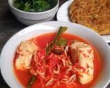 Asam Padeh Teri Tahu langkah memasak 4 foto