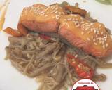 Salmon enoki kecap mayones enak#homemadebylita langkah memasak 6 foto