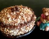 Mocca Noughat Cake langkah memasak 11 foto