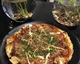 Okonomiyaki langkah memasak 3 foto