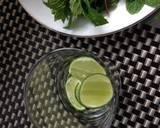 Caipirinha Mint langkah memasak 1 foto