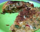 Telur dadar Padang langkah memasak 3 foto