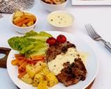 Steak Lada Hitam langkah memasak 6 foto